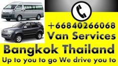 ||| Call  +66840266068 | Private Van Service: Suvarnabhumi: Don Mueang: ...