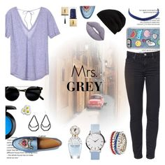 """""""Mrs. Grey - Casual"""" by ranilukman on Polyvore featuring Victoria's Secret, Rick Owens, Gucci, Red Camel, Marc Jacobs, MAC Cosmetics, Yves Saint Laurent, Lime Crime and mrsgrey"""