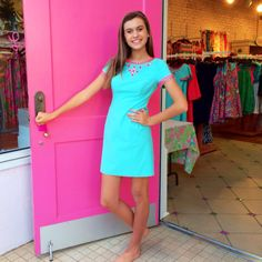 Pink Bee | West End Greenville | Lilly Pulitzer | Resort | Nora Dress