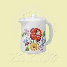 My Today's Best Award winner design on pretty tea pot.
