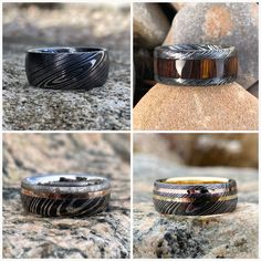 How many different ways can we deliver our custom ~ Pick one of our totally awesome styles or design your own in a few simple steps! Renaissance Jewelry, Custom Wedding Rings, Wedding Band Sets, Titanium Rings, Perfect Christmas Gifts, Totally Awesome, Love Symbols, Damascus Steel, Etsy Store