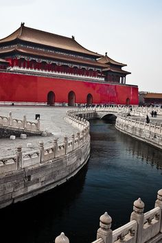 Forbidden City, Beijing, China. Located in the center of Beijing, the Forbidden City was the imperial palace of China's emperors for five centuries and is one of the most beautifully preserved examples of ancient Chinese architecture.