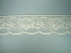 """Shop for Ivory Edge Lace Trim - 3"""" Wide - and hundreds of other great laces and trims. Free Shipping $40+. Satisfaction guarantee."""