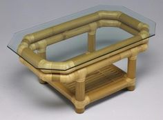 Top 16 Easy and Attractive DIY Projects Using Bamboo: Bamboo is a useful material which can be used and reused in a number of projects. Today we have got beautiful DIY projects made. Bamboo Roof, Bamboo Art, Bamboo House, Bamboo Crafts, Bamboo Ideas, Bamboo Table, Bamboo Furniture, Recycled Furniture, Outdoor Furniture