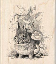 Inkadinkado Rubber Stamp-Bunny Retreat, , hi-res