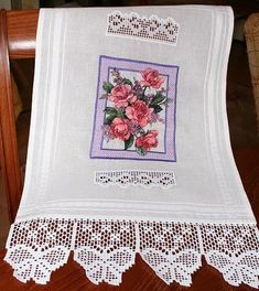 Advanced Embroidery Designs - Pink Rose Bouquet