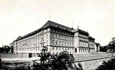 Lata 1925-1930 , Budynek Dyrekcji Okręgowej Kolei