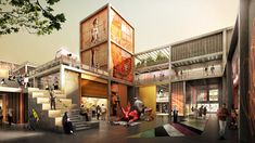 Dubai Design District Creative Community by Foster + Partners