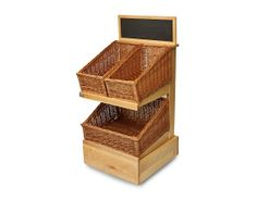 Retail Display Stands | Wood & Wicker Display Stands. 2 Tier Display Stand - http://www.heartbeatuk.com/2-tier-display-stand-wooden-stand-only-/product/587