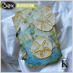 Sizzix Inspiration | Deep Sea Mini Album by Vivian Keh  http://blog.sizzix.com/deep-sea-mini-album/
