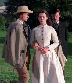 Jason Flemyng, Oliver Milburn, and Justine Waddell in Tess of the D'Urbervilles Retro Girls, Vintage Girls, Vintage Outfits, Vintage Dresses, Courtly Love, Retro Fashion, Vintage Fashion, Classic Literature, Historical Costume