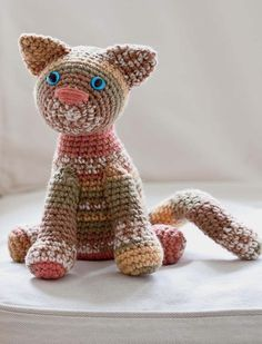 Sweet Kitty. Deb Richey. Crochet toys. Crochet One-Skein Wonders. Judith Durant & Edie Eckman. Kindle.  10 ply 155m/ 100g x 1.