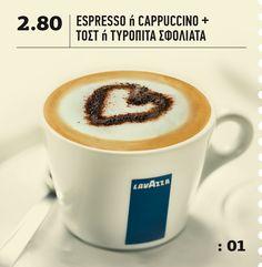 BeFresh | Menu > Προσφορά: 01 Espresso Bar, Menu, Fresh, Tableware, Food, Menu Board Design, Dinnerware, Tablewares, Eten