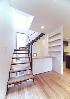 鉄骨階段 / 階段施工例
