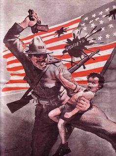 Italian WW2 Propaganda Poster