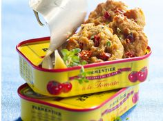 Découvrez la recette Cookies thon sardine à la tomate sur cuisineactuelle.fr.