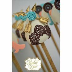 Boho Cake Pops
