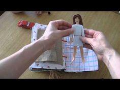 cartea ruxandrei...quiet book - YouTube