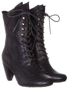 Coal Mill Victorian Boots