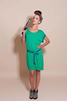 Tunic Odysée verte, portefeuille Optic & chaussures Ocean!