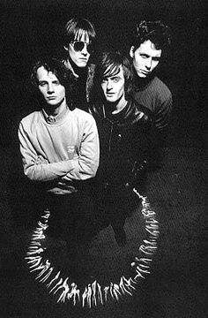 Spacemen 3 - Pete Kember, Jason Pierce, Natty Brooker, Pete (Bassman) Bain, Stewart (Rosco) Roswell