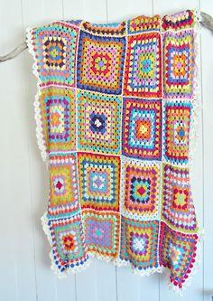 Granny blanket, afghan