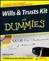Wills and Trusts Kit For Dummies:This friendly guide shows youhow to prepare a legal will or trust — either on your own or with professional help — and ensure that your wishes are honored. You'll handle everything from planning your bequests and writing and signing a will to selecting a trust and drafting your durable power of attorney.