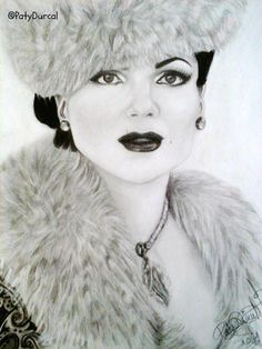 Great drawing of Regina submitted by @Patydurcal.