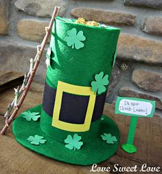 """""""As everyone knows, leprechauns hoard pots of gold, and if caught, must reveal the treasure's location to their captor."""" says JoEllen Mitche..."""
