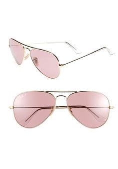 Blush Aviators? Yes, please!
