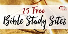 It has never been easier to study the Bible. Hundreds of free Bible study toolsincluding concordances,Bible encyclopedias,Bible dictionaries, commentaries, lexicons, atlases, online articles, sermons, videos, and more are available. BibleGateway Bible Keyword Search Topical Index Bible Commentaries BibleHub Bible Concordances Topical Bibles Bible Encyclopedia Bible Dictionary BibleStudyTools.com Bible Commentaries Bible Lexicons (Greek & Hebrew) Bible …Read more...