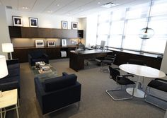 Tewes Design Nyc Executive Office Seattle Interior In