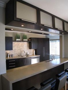 with some red accents? Kitchen open to living room? #LGLimitlessDesign #Contest