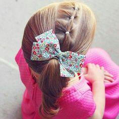 Easy Little Girl Hairstyles Easy Little Girl Hairstyles, Little Girl Braids, Baby Girl Hairstyles, Girls Braids, Cute Hairstyles, Ponytail Hairstyles, Teenage Hairstyles, Girl Hair Dos, Kid Hair