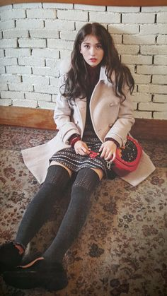 Tongue, straw and other stuff Jeon Somi, South Korean Girls, Korean Girl Groups, Girl Fashion, Fashion Outfits, Korean Celebrities, Asian Woman, Kpop Girls, Cute Girls