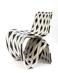Joris Laarman Lab | Maker Chair (Puzzle) | 2014 | Black and white maple