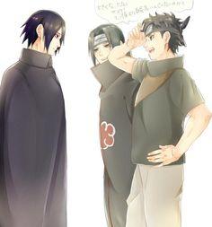 Omg, imagine them meeting older Sasuke afsgagsghahsg right in the feels