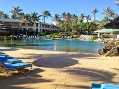 Sand pool at The Point at Poipu in Kaui, Koloa, HI. This is our time share!