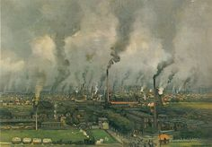 The industrial town of Enschede by J.C.H. Heijenbrock (1916)      De zeepzieder  / Boiling Soap  (Scheepstra en Walstra)    In the old days all kind of illustrations like this were used in class in the Netherlands to explain the children about all kind of subjects, for instance the industry.