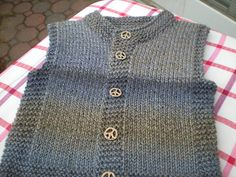 Ravelry: Project Gallery for Quick-Knit Vest pattern by Doreen L. Marquart Ravelry: Project Gallery for Quick-Knit Vest pattern by Doreen L. Baby Knitting Patterns, Knitting For Kids, Knitting For Beginners, Baby Patterns, Free Knitting, Ravelry, Knit Vest Pattern, Quick Knits, Baby Sweaters