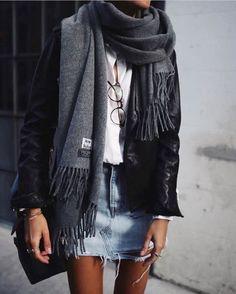 Πώς μπορείτε να φορέσετε την αγαπημένη σας φούστα με στυλ   μοδα , street style   ELLE