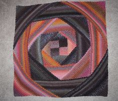 Ravelry: Project Gallery for Spiral Crochet Lapghan pattern by Kristin Omdahl