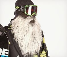 Beardski - cold weather ski mask/face protection for the slopes . . . or for around the house.