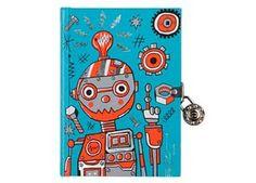 mooi dagboek met slotje Mudpuppy | kinderen-shop Kleine Zebra