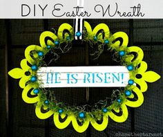 My Friday Fave Pins-Spring Wreath Style