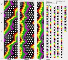 15 around bead crochet rope
