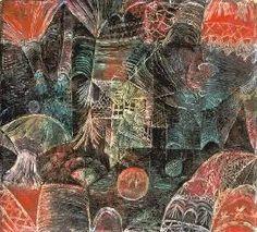 Paul Klee - Paysage de scène.