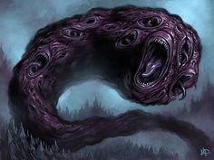 """eldritchrealm: """" Shub-Niggurath by Matt Dixon """""""