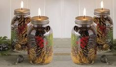 Bittersweet & Ivy Primitives: Mason Jar Monday ~ Oil Lamps! Uses glass piece from craft store to insert wick.
