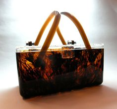 Tortoise Shell Plastic Purse The Antique Gallery Of Lewisville Tx Has This Lovely On Display In Very Front By Doors